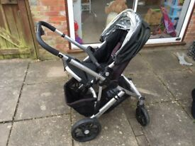 Uppababy vista pushchair buggy
