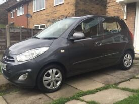 2012 hyundia i10 1.2 petrol only 45000 miles air-con