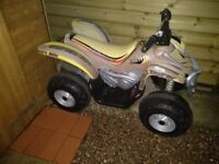 Kids 12 volt 2 motors Quad Bike