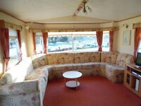 SPACIOUS COMFORTABLE 2 BEDROOM (6 Berth) CARAVAN FOR HIRE AT SUNDRUM CASTLE HOLIDAY PARK, AYRSHIRE.