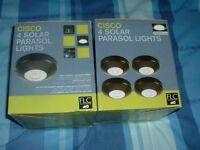 solar lights parasol lights.brand new