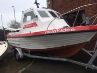 Icelander 18 boat hull&trailer only