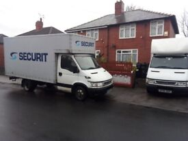 HOUSE REMOVALS 2 MEN AND LUTON VAN 7 DAYS A WEEK