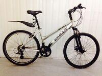 Amerce City bike, full suspension.. disk breaks alloy frame