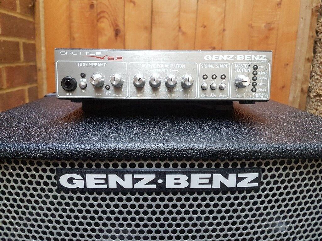 Genz Benz Shuttle 6 2 Bass Amp Amplifier Head Light Weight 4lb In Hillingdon London Gumtree