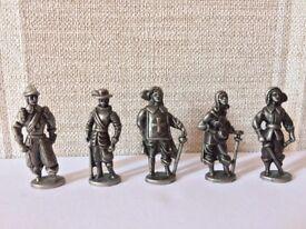 Westair Pewter Miniature Military Figures