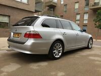 BMW 5 Series 3.0 525d SE Touring 5dr | Widesceen Sat Nav | New Cobra Selector Model | Leather