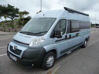 Autocruise Alto fixed bed motorhome camper van conversion - very low mileage with many extras