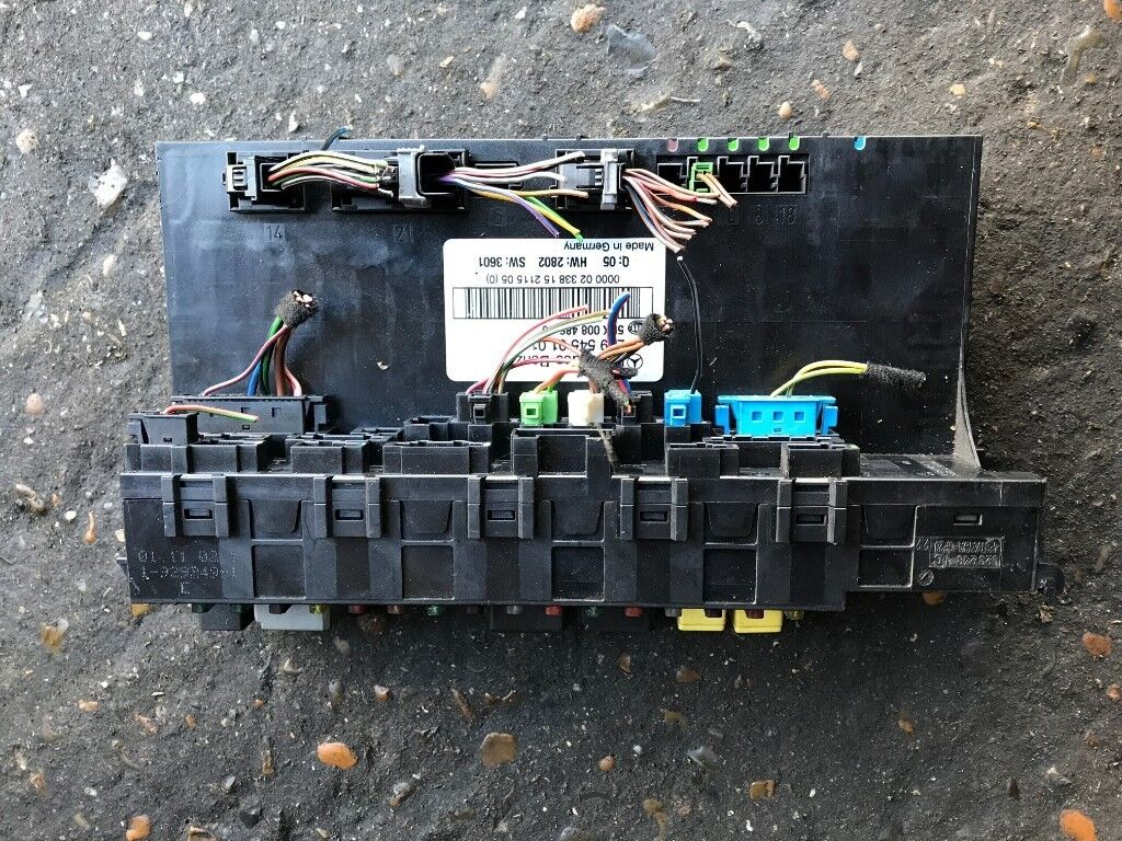 03 Mercedes Clk 240 Petrol Front And Back Fuse Box Avaliable In Ml320