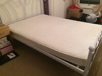 Double Bed - Mattress and Frame. Excellent Condition. Open to Offers. Available immediately!