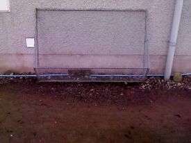 window guard galvanised 7x 4 ft approx each only
