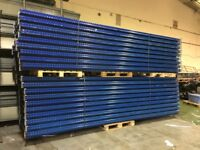 JOB LOT systemas pallet racking excellent condition ( pallet racking , industrial storage )