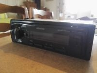 Kenwood USB/AUX car stereo for sale