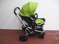 MOTHER CARE THREE IN ONE PRAM,STROLLER,PUSHCHAIR BABY OYSTER SYSTEM