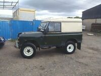 land rover tax exempt diesel swb