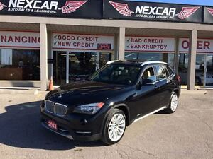 2013 BMW X1 AUTO* AWD LEATHER PANORAMIC ROOF 95K