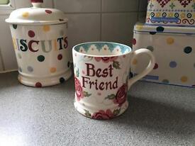Emma bridgewater pint mug.