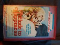 *RARE* vhs big box. Prelude to happiness 1975.