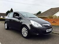 2011 VAUXHALL CORSA 1.2 PETROL 24k MILES FROM NEW LONG MOT READY TO DRIVE AWAY
