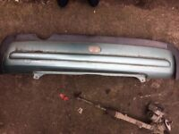 Bumper, rear for 2001 Mini One Light metallic green