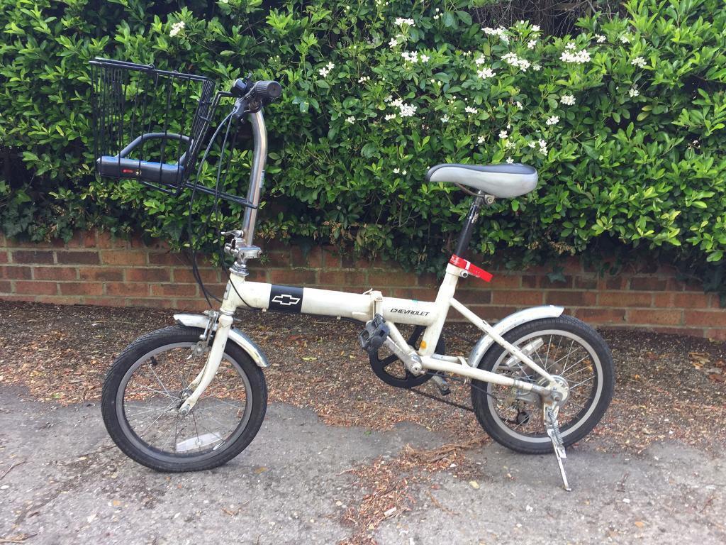 chevrolet folding bike in cambridge cambridgeshire. Black Bedroom Furniture Sets. Home Design Ideas