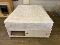 DOUBLE SLIDING DRAWS BASE & MATCHING MATTRESS LOTS OF STORAGE FREE DELIVERY