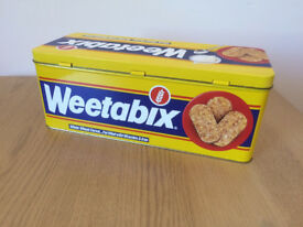Vintage Collectable Weetabix Tin