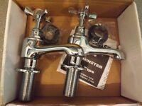 Westminster chrome bath taps
