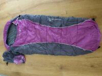 Sprayway 3 season young child's mummy sleeping bag