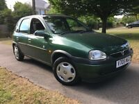 VAUXHALL CORSA CLUB 1.2,16V MINT FOR ITS AGE DRIVES VERY WELL MUST SEE ONLY £500