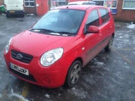 2010 10-plate Kia Picanto 1.0 5dr Strike long mot April 2018