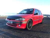 106 GTI Peugeot - Track Car (Roll Cage)