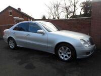 2009 mercedes e class{fsh,64000 miles,facelift model,finance,warranty ava}