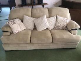 Sofa 3 seater and single seater