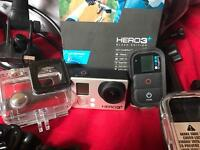 GoPro Hero 3+ Black Edition & Accessories