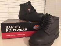 Dickies Safety Boots Antrim - Brand New Size 8