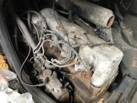 Mercedes 307 d engine and box
