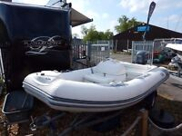 Avon 400 DL RIB with 50hp Yamaha 4-Stroke Outboard For Sale