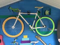 Fixie bike custom built