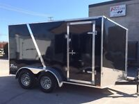 2016 Stealth Trailers 7x14 SLOPE TOP V NOSE