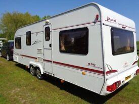 Touring Caravan Eldiss Avante 630 (2004) 6 Berth