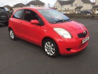 2008 58 TOYOTA YARIS TR 1 OWNER CAR 1 YEARS MOT RELIABLE CAR PX WELCOME £1195