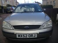 Ford Mondaeo for sale