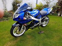 Suzuki gsxr 600 k1. V quick and reliable. Lovely condition. New mot + battery. Stunning bike. £1995.
