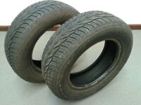Pair of Uniroyal RainExpert 175/65 R 13 T tyres x 2