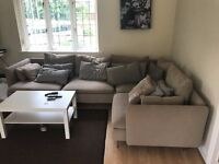 Seater Sofa (Corner), Almost new, Macclesfield, URGENT