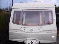 Avondale Argente Luxury 4 Berth Caravan With Motor Mover (550/4S 2004/5)