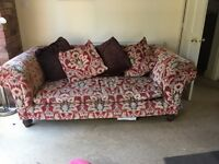 Ex sack store sofa for sale.