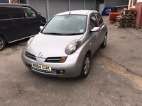 2004 NISSAN MICRA SX IN SILVER ONLY 69000 Miles Full Service History SX Model with the Extras
