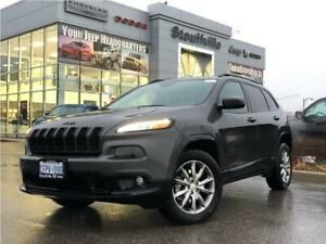 2018 Jeep Cherokee North 4X4, Company Demo, Cold Group, 9, 500 K